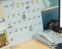 Free Shipping Mini Dry Erase Board White Board Whiteboard Magnet Marker calendar writing Fashion Weekly Marker