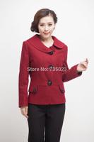 2014 Autumn Winter  New Arrival  Women's Wool Coat Korean Female Short Wool coat Overcoat  Freeshipping
