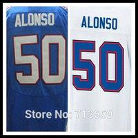Buffalo #50 Kiko Alonso Men's Elite usa soccer jersey,American football Jerseys,Embroidery Logo,Free Shipping,Accept Mix Order