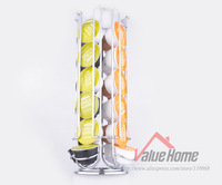 2014 New free shipping Rotating 24 Capsule Coffee Pod Holder Stand Rack Storage Nescafe Dolce Gusto