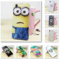 TOP quality flexible gule soft tpu colorful Drawing Cover Case For Lenovo S960 vibe x phone cases free screen protector flim