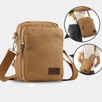 New 2014 Hot Sale Canvas Casual Men Messenger Bags/ Small Outdoor Sport Shoulder Bag/ Multifunctional cross body Waist Pack