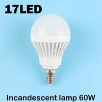 E14 17LEDS SMD 5730 (Incandescent lamp 60W) 220V - 240V Warm white cold white led lamp