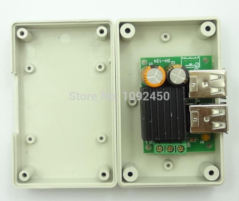 Инвертирующий усилитель мощности OEM 4 USB DC12V 5V 5 , iPhone ipad MP5 GPS HTC