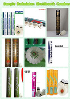N tubes/lot Sample Badminton Shuttlecocks Combos Package with N Brands Different Combos for Choosing L147