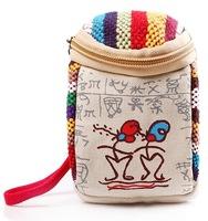Bolsas Femininas 2014,Traditional Chinese Ethnic Ancient Canvas Wind Restoring Ancient Cluctch Woman Purse wallet Handbag