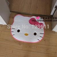 free shipping hello kitty bathroom product carpet bathroom floor mats carpet child 50*60cm child/kid bathroom carpet rug cushion