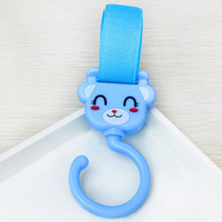 cute animal shapes versatile Velcro hook360  degree rotating hook baby stroller  wholesale shipping
