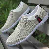 The new 2014 breathable canvas shoes men's shoes fashion Leisure men's sneakers