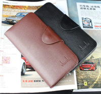 Free shipping new 2014 brand men's wallet Leather Wallet for men Gent Leather purses hot fashion money bags