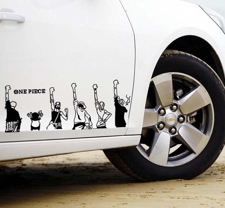 One Piece Car Sticker Malaysia One Piece Car Stickers