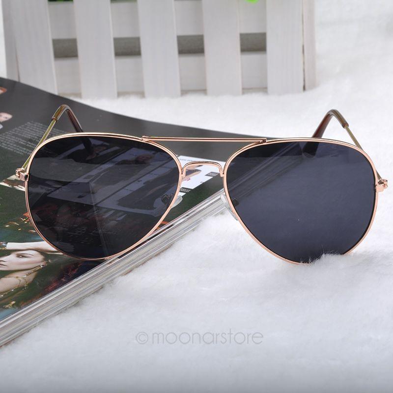 Multi Color Brand Sunglasses Unisex Popular Fashion Cool Goggle AVIATOR Metal Eyewear Bat Mirror UV Protection MHM041#M4(China (Mainland))