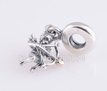 3 54g Romantic 925 Sterling Silver Pendant Cupid Beads Fit Pandora Style Diy Bracelets Beads Outlet