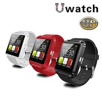 Original U Watch U8 Bluetooth Smart Wristwatch for iPhone 4S/5/5S/6 Samsung S4/Note 2/Note 3 HTC Android Phone Smartphones