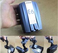 E6 LED Display Car Radar Detector Russian and English Voice Black
