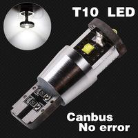 2pcs 15W Cree LED NEW Canbus cree led,501 led high power,168 canbus car light,cree led t10 canbus car light source 194/501