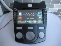2DIN Car Radio Audio DVD Android 4.4.2 Russian Menu Map KIA CERATO FORTE SHUMA KOUP Manual Air-Conditioner 08~12 Free Shipping