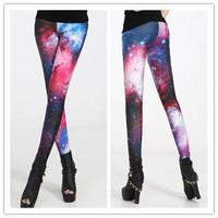 Cosmic Star New Spring 2014 Leggings For Women Punk Jeans Women Legging Fashion Leggings Sport Leggins Pants