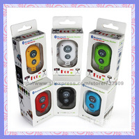 100pcs 2014 Hottest 10m camera shutter self-timer shutter universal bluetooth remote shutter for Smart Phone Android and IOS