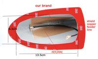 new design model car radio shark fin  antenna for Honda Crosstour  the least signal loss