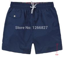 2014 New summer men's beach shorts fashion leisure swimming shorts men swimwear men Free shipping(China (Mainland))