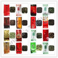 16  flavors oolong black tea,dahongpao tie guan yin puer sencha jasmine  white  green bi luo chun long jing dian hong  tea