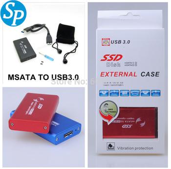 """2.5 """" 2.5 дюймов жесткий диск чехол USB 3.0 жесткий диск MSATA внешний жесткий ..."""