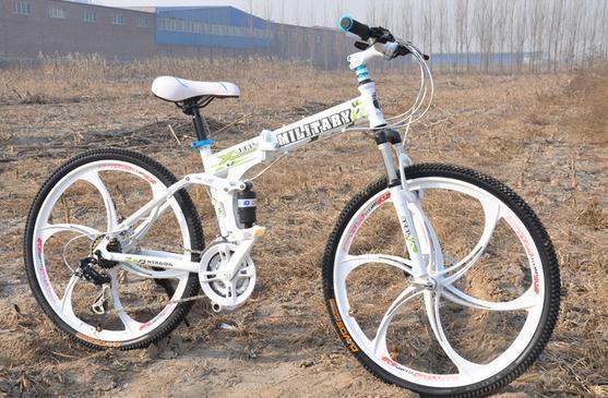 folding mountain bicycle folding bike bicycle Hot selling 21 speed integrated wheels xb 29(China (Mainland))