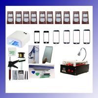 Full Set 110/220V Smart Phones Glass LCD Screen Split Assembly Touch Panel Separator Machine Built-in Pump with Led Light