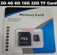 Wholesale Free Shipping Real Capacity 4GB 8GB 16GB 32GB TF Card Micro SD Card Memory Card 20PCS/lot