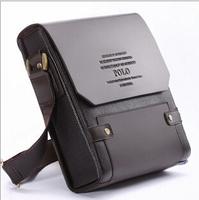Free Shipping New 2014 Business Handbag Fashion Brand Men Messenger Bags Vintage Casual Briefcase Genuine Leather Shoulder Bag