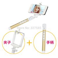 DHL 50pcs 2014 china new innovative product selfie stick camera monopod wireless monopod mobile phone monopod for iphone&Samsung