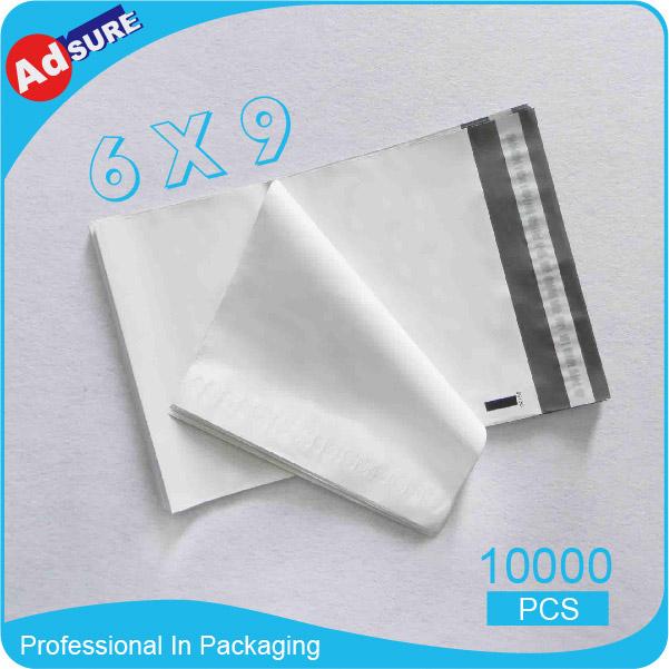 6*9 10000/pcs Poly Mailers Envelopes Bags Custom Printed Poly Mailer Bag Shipping Free(China (Mainland))