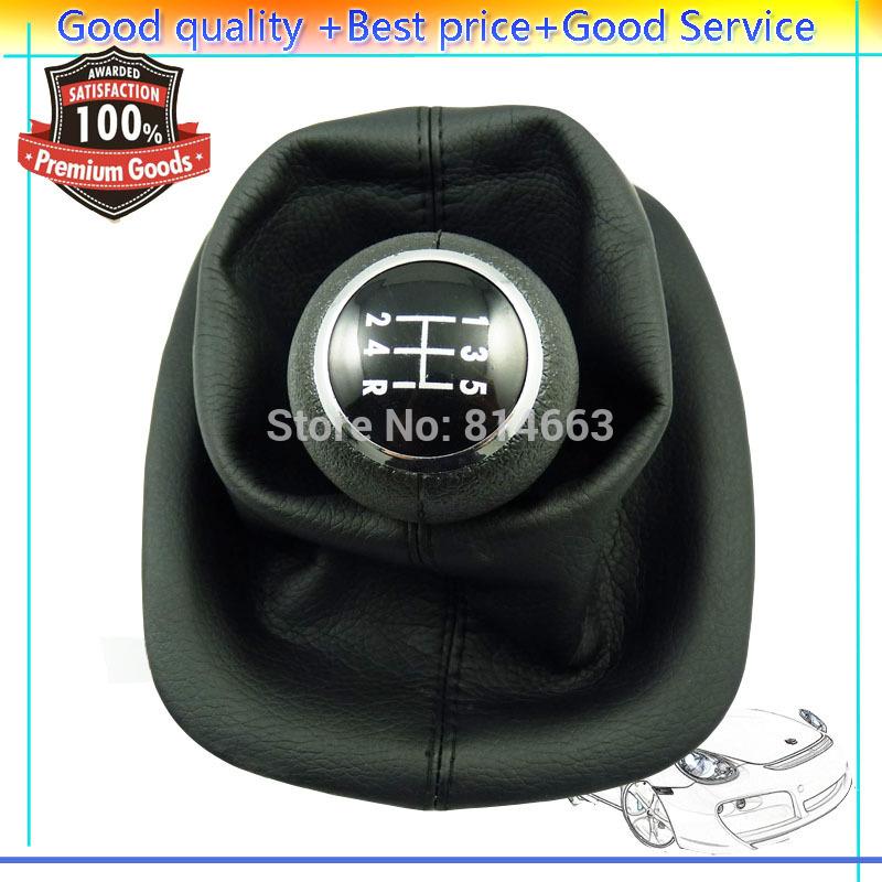 New 5-Speed Gear Shift Knob Gaitor Boot For VW Passat B5 B5.5 1996 1997 1998 1999 2000 2001 2002 20003 2004 2005 (HDSQVW006)(China (Mainland))