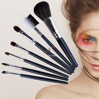 7pcs Professional Makeup Brush Set Cosmetics Foundation blending blush With Case Dropshipping B11 SV004451