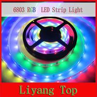 16Ft 5m 6803 IC 5050 RGB Strip DREAM COLOR waterproof 150LED IP67 magic color digital 12V Led Strip light 30led/Meter 5pcs/lot