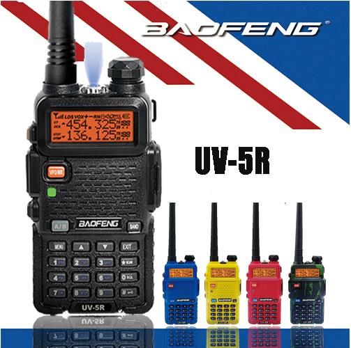 HOT Sale Baofeng UV-5R UHF VHF Two Way Portable Walkie Talkie Rado BF UV 5R Ham Radio UV5R Station With 1800mah Battery Antenna(China (Mainland))