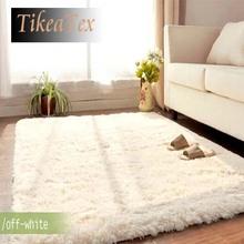 100*200cm 4.5cm thickness Fashion Living Dining Bedroom Car Flokati Shaggy Ivory Rug tapete Anti-skid Carpet Seatmat doormat Rug(China (Mainland))