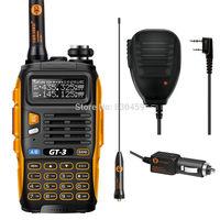 Handheld transceiver BaoFeng 2014 version GT-3 Mark II, Dual Band  V/U 136-174/400-520MHz+baofeng Speaker