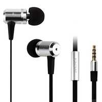 AWEI ES100i Stylish in-ear earphone bass Cell Phone Headsets with Mic Button for samsung xiaomi sony iphone high quality luxury