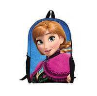 Frozen Children Backpacks Anna Elsa Cartoon School Bag Boy and Girl School Backpack Bag Snow Romance Backpack For Kids Mochila