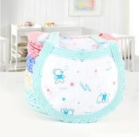 Free shipping 10pc/lot Wholesale Children Toddler Towel Scarves Feeding Apron Infant Carter's Bibs Waterproof Saliva