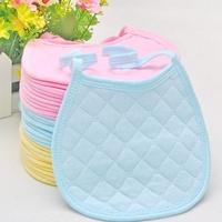 Free Shipping 2014 Hot Sale (3 Colors) 10pc/lot 100%Cotton Baby Bib Carter Burp Cloths Baby Wear Baby Bib Infant Saliva Towels
