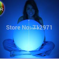 Dia50cm/19.53LED LED garden ball lamp Christmas decorative ball lamp LED novelty sphere