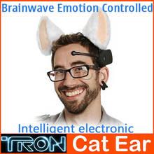 Necomimi Mood Cat Ears Mind Cat Ears Brain Wave Emotion Controlled Intelligent Control(China (Mainland))