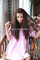 Kinky Curl  3/4 Half   Wig  Clip In  Hairpiece Deep Curl  Fashion Half Wig  ,Synthetic Black Brown  wig   03116