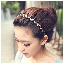 Gear Sports Hoop Wavy Headband Hair Band for Women hair Accessories Hair Ornaments Free Shipping FD179(China (Mainland))