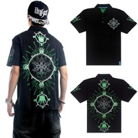 Original Brand Quantity Limited Plus Size Polo 2014 Mens Short Tee Shirt short-sleeve loose Hip-Hop hip hop hiphop