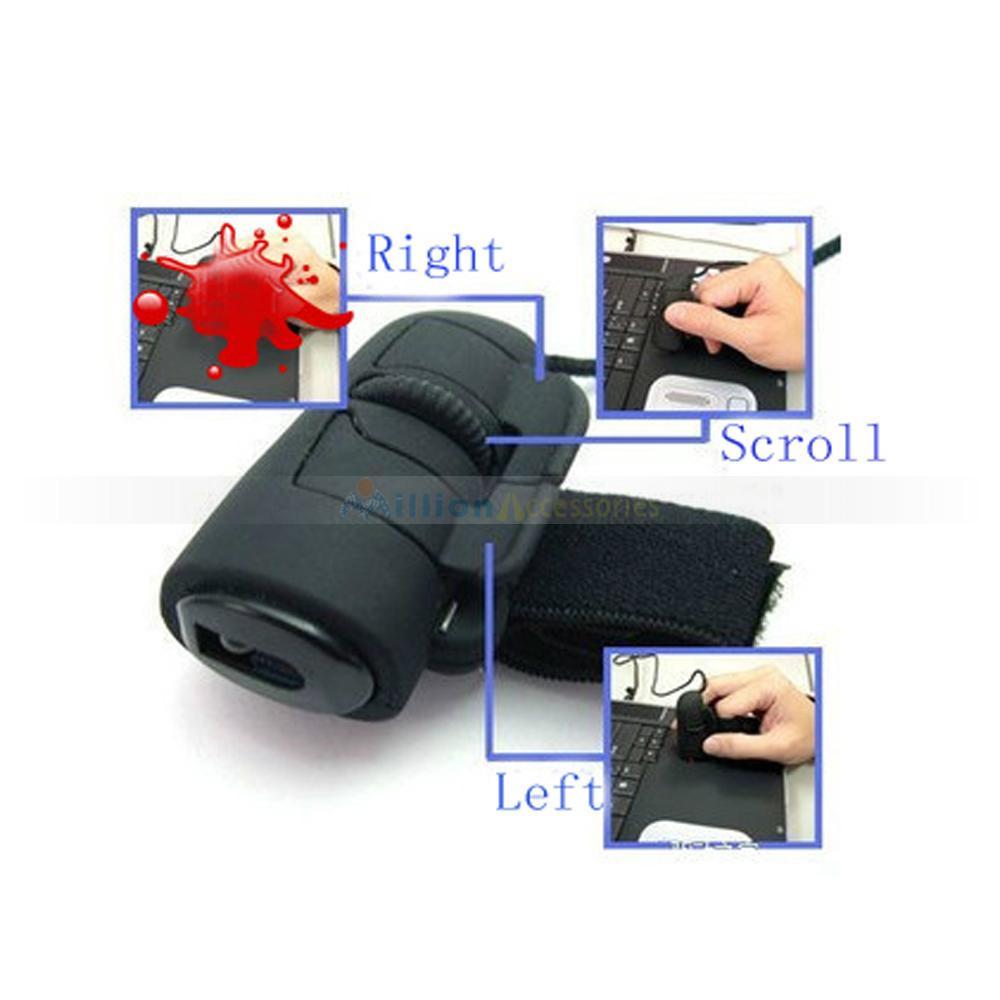 mini carino ergonomico 3d usb 800 dpi dito del mouse ottico mouse per pc portatile