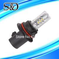 S&D Brand 1pc 9007 HB5 80W Cree LED Xenon White led cars Fog Head lights Daytime Running Bulb auto Lamp parking light source
